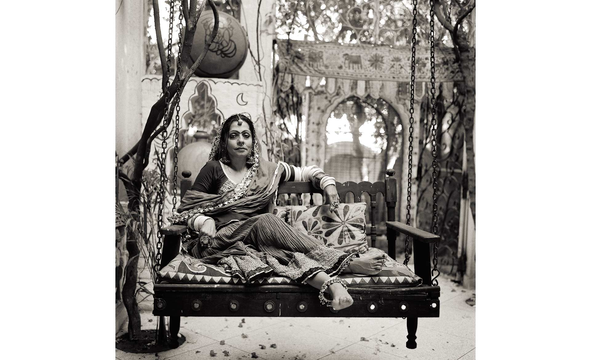 Portrait of Banjara women