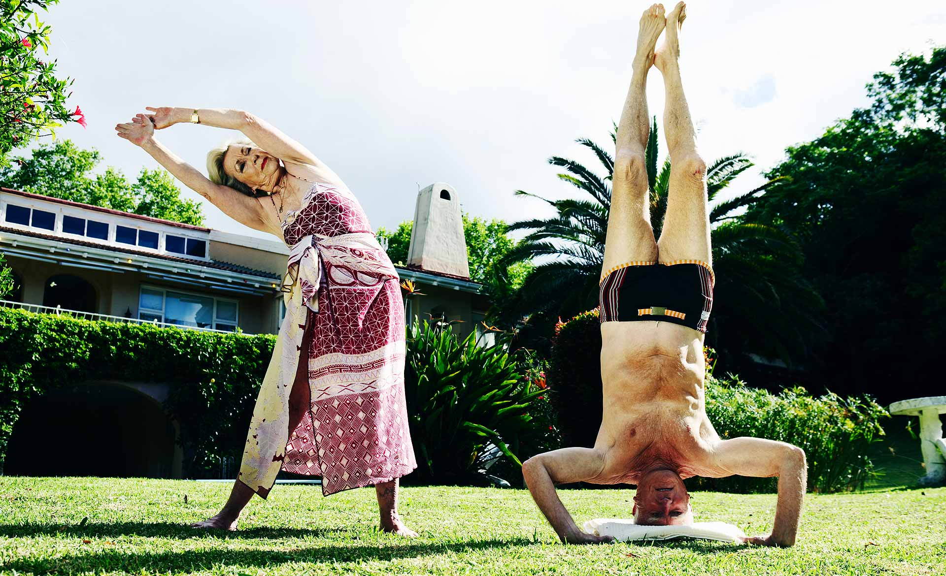 Yoga Grandparents